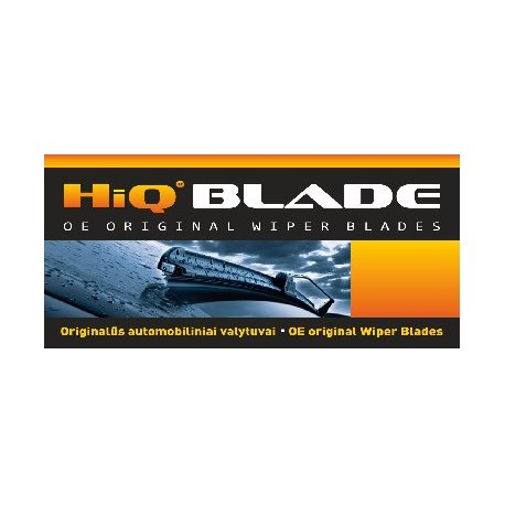 HiQ Valytuvai 550/530mm (2vnt) Komplektas